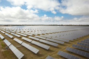 25-MW solar power system