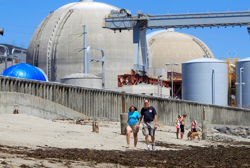 San Onofre Nuclear Plant Closed